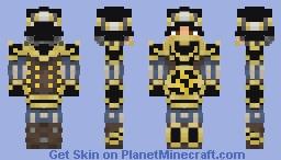 Nilfgaardian Knight (The Witcher 3) Minecraft Skin