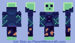 Magical slime Minecraft Skin