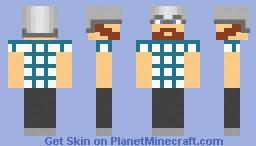 Man with Helmet Minecraft Skin