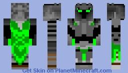 green popularmmos Minecraft Skin
