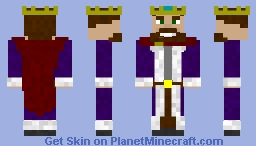 The King Minecraft Skin