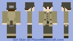 U.S. Squad Leader (NCO) Minecraft Skin