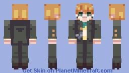 [ byakuya togami ] - danganronpa Minecraft Skin