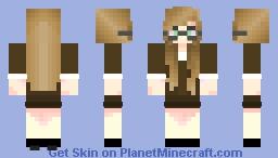 Linda the Banker Minecraft Skin