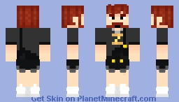 Max with Booty Shorts Minecraft Skin