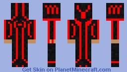 One Of Machines (TRON) Minecraft Skin
