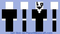 W.D Gaster Minecraft Skin