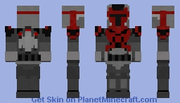 Mandalorian Super Commando Minecraft Skin