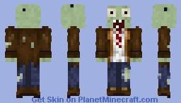 modern Zombie [plant vs zombie] Minecraft Skin