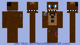 withered freddy Minecraft Skin