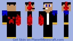 powerful gamer boi Minecraft Skin