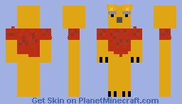 Winnie the Pooh is not amused Minecraft Skin