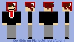 buisness man Minecraft Skin