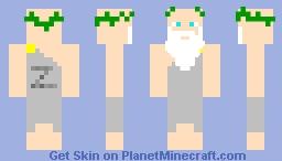 Zeus ~ God of Thunder (Contest) Minecraft Skin