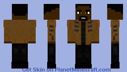Bronze Tiger - CW's Arrow Season 2 Minecraft Skin