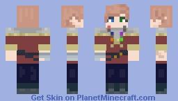 Riven Daughter Of Loki (Origins Of Olympus S2) Minecraft Skin