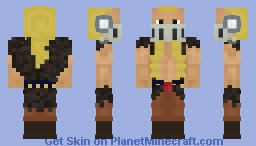 Jack the Drought [One Piece] Minecraft Skin
