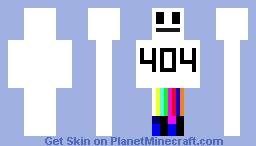 error update.1 Minecraft Skin