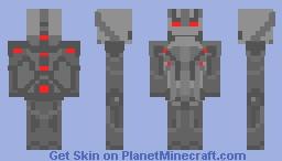 Ultron(Movie) Minecraft Skin
