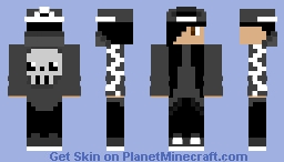 Metalhead Minecraft Skin