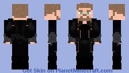 Quake - Agents Of S.H.I.E.L.D. Season 3 Suit Minecraft Skin