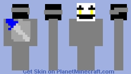 puppet avitar in armor Minecraft Skin