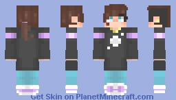 Christopher Coleman I (From my Story. Link in Description) + Drawing! Minecraft Skin