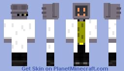 Computer head Minecraft Skin