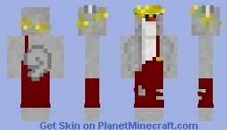 Ross With Overalls and Flower Crown Minecraft Skin