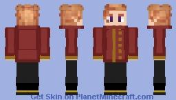 Arthur Pendragon Minecraft Skin