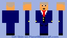 DJ Trump Minecraft Skin
