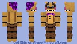 Fnaf Universe Mod Starlight Fredbear Minecraft Skin