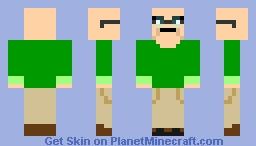 Brock Anderson Minecraft Skin