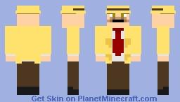 Inspector Warren Truman Minecraft Skin