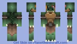 Baarac Murat, the Scaled Prophet (Reptilian) Minecraft Skin