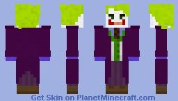 The Joker (Heath Ledger) Minecraft Skin