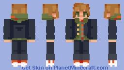 [ makoto naegi ] - danganronpa Minecraft Skin