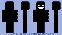 The Intruder (SCP-4335) Minecraft Skin