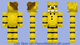 🎩🧸MiniGame Fredbear🧸🎩 FNaF 3 Minecraft Skin