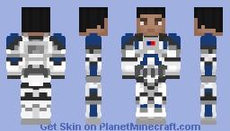501st Pilot Minecraft Skin
