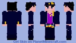 Jotaro Kujo - Jojo's Bizarre Adventure Minecraft Skin