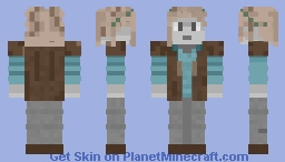 a normal skin, for a contest Minecraft Skin