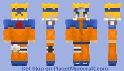 𝓝𝓪𝓻𝓾𝓽𝓸 𝓤𝔃𝓾𝓶𝓪𝓴𝓲 Minecraft Skin