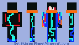 disco dude Minecraft Skin