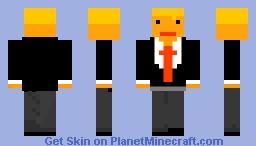 Donlad Trump Minecraft Skin