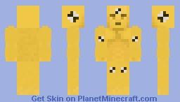 Blocky Roads   Crash Test Dummy Minecraft Skin