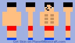 body builder Minecraft Skin