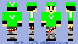SYMBOL STALWART Fortnite (My Fortnite skin) Minecraft Skin