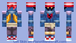 KH - Air Pirate Remix Minecraft Skin