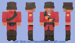 John Doe ~ The Soldier Minecraft Skin